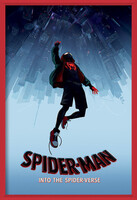 Gerahmte Poster  Spider-Man: a New Universe - Fall