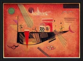 Gerahmte Poster  Wassily Kandinsky - Whimsical