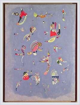 Gerahmte Poster  Wassily Kandinsky - Sky Blue