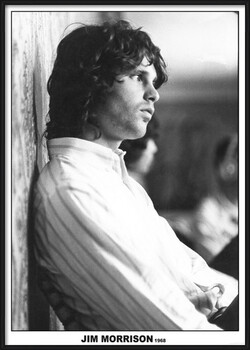 Gerahmte Poster Jim Morrison - The Doors 1968