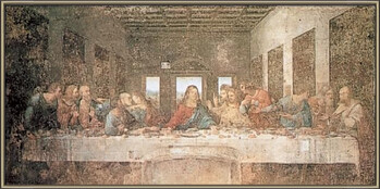 Gerahmte Poster The Last Supper
