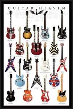 Gerahmte Poster Guitar heaven