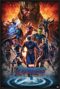 Gerahmte Poster Avengers: Endgame - Whatever It Takes