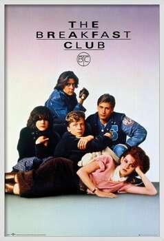 Gerahmte Poster The Breakfast Club - Key Art
