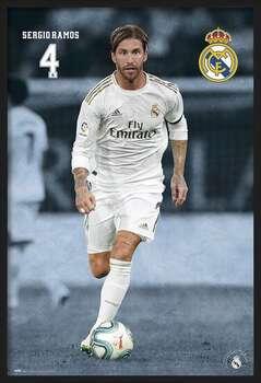 Gerahmte Poster Real Madrid 2019/2020 - Sergio Ramos