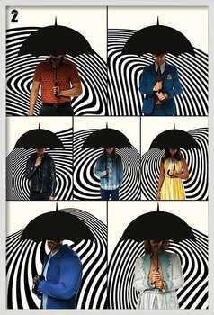 Gerahmte Poster The Umbrella Academy - Family