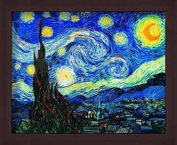 Gerahmte Poster The Starry Night, June 1889